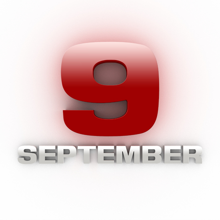 September  9  three-dimensional Grandparents Day Stok Fotoğraf