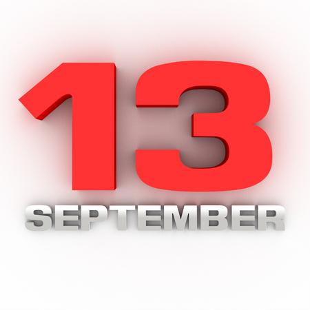 September 13 Three-dimensional