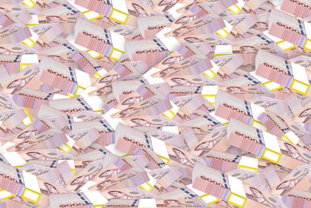 New Thai Banknotes 2018.1000 baht. Stockfoto