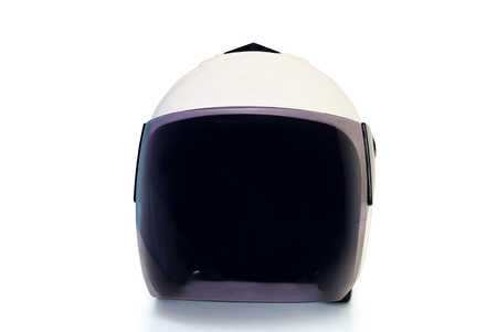 Helmet on white background.With Clipping Path.
