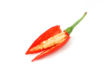 Capsicum frutescens L. Chilli Pepper.Chili has anti-oxidants, helps slow down aging.