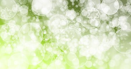 Grüner Hintergrund. Bokeh Grüner Hintergrund. Standard-Bild