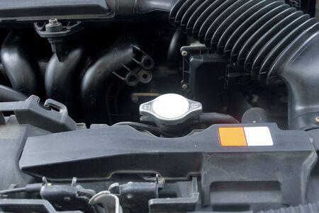 Układ chłodnicy samochodu Konserwacja otwarcia korka chłodnicy Układ chłodzenia samochodu.