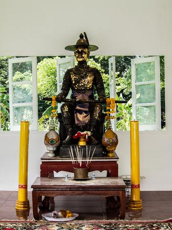 majesty: His majesty Taksin Thailand Stock Photo