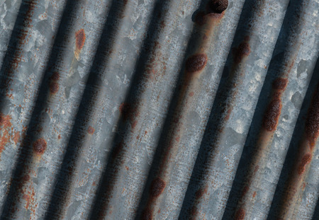 prong: Prong beeline galvanized iron with rush abstract walllpaper Stock Photo