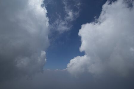 cloudscapes: Cloudscape from the high mountain Chiang Mai Thailand.