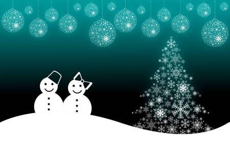 Christmas scene background Stock Photo - 11124787