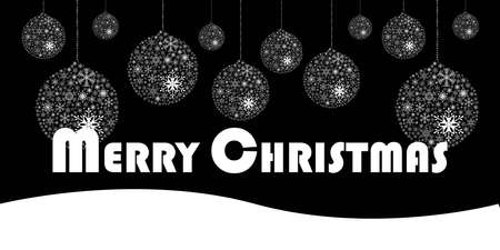 Merry Christmas Isolated Background