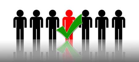 voting decision: business chosen people