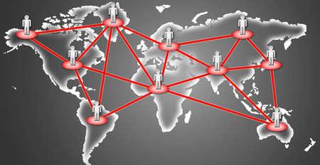 e recruitment: business network connection