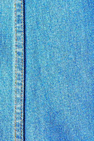 The blue fabric jean background photo