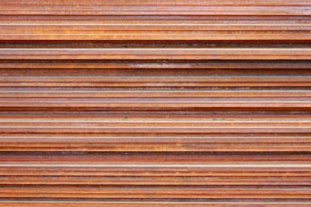 The rusty steel sheet background photo