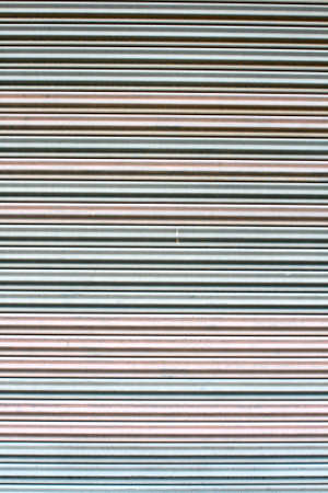 The corrugated metal sheet background Stock Photo - 13099364