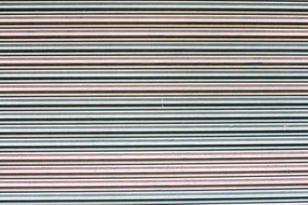 The corrugated metal sheet background Stock Photo - 13099369