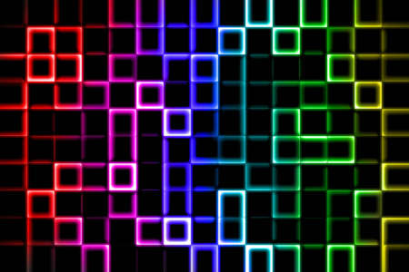 mixed wallpaper: The abstract art square background