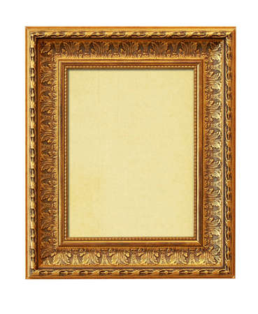 The picture frame isolated on white photo