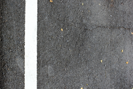 The asphalt road texture with white line Stock Photo - 16304315