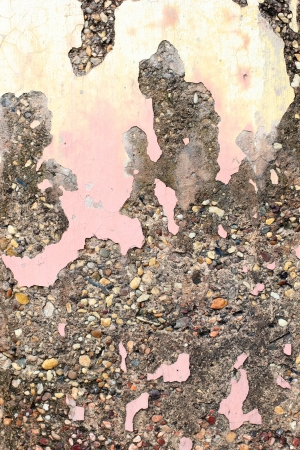degradation: The abstract old damaged wall background Stock Photo