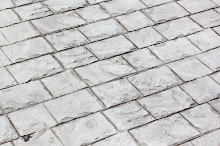 The abstract stone walkway background Stock Photo
