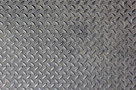 The old diamond steel plate background photo