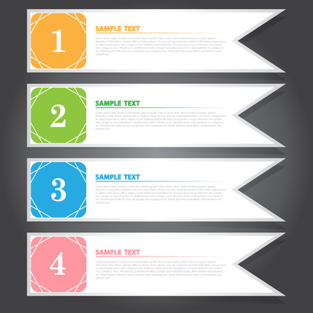 flag template: Colorful Flag Template for Creative Work