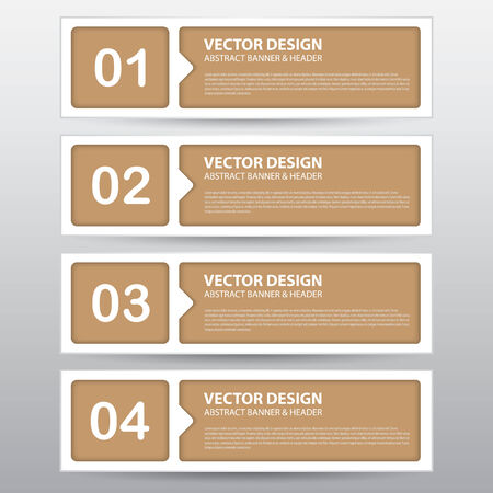 The Vector Work, Abstract Banner for Design and Creative Work