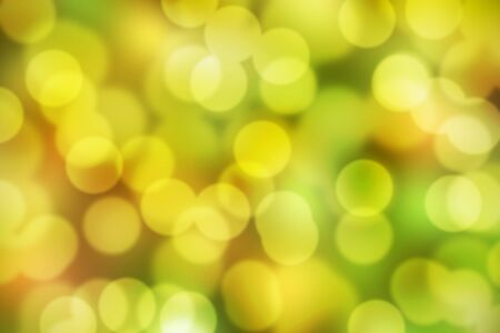 The defocused colorful bokeh background
