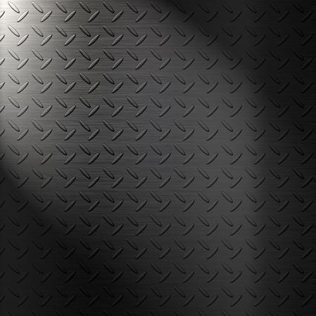 diamond plate background: The metal diamond plate background