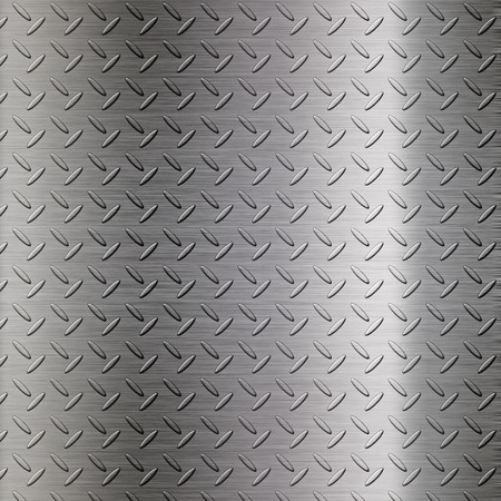 checker plate: The metal diamond plate background