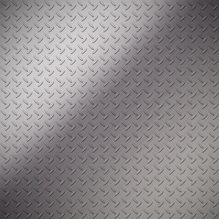 The metal diamond plate textre background