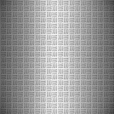 The metal diamond plate background
