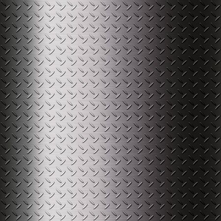 The metalic checker plate surface background for creative work