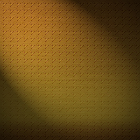 wallpapaer: The brass diamond plate background Stock Photo
