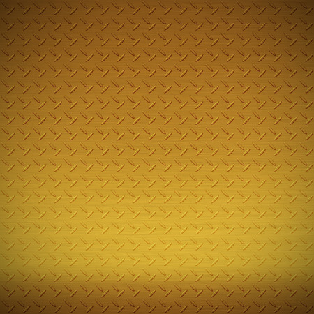 The brass diamond plate background Stock Photo