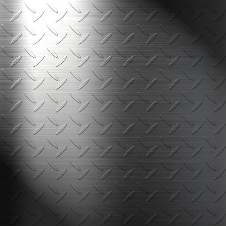 checker plate: The iron checker plate background Stock Photo