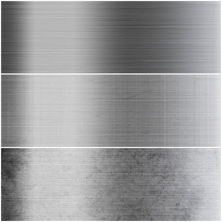 A set of metal surface background