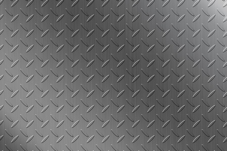 The steel checker plate background