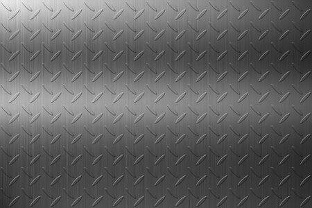 The abstract steel checker plate background