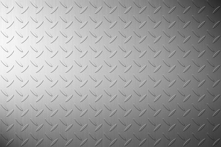 The iron steel metal diamond plate background Stock Photo
