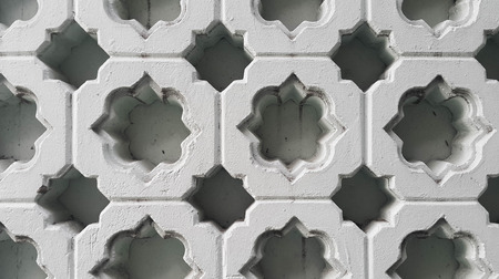 Islamic pattern on carved blocks by the edge of block could create a pattern in between each one of them.