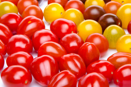 cherry varieties: Background of different varieties of cherry tomatoes