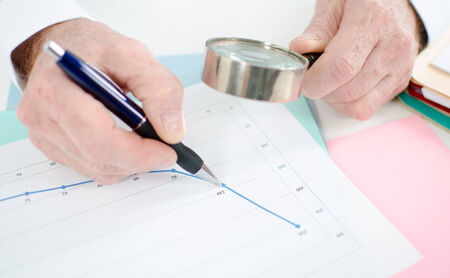 thorough: Thorough analysis of a financial curve with a magnifying glass