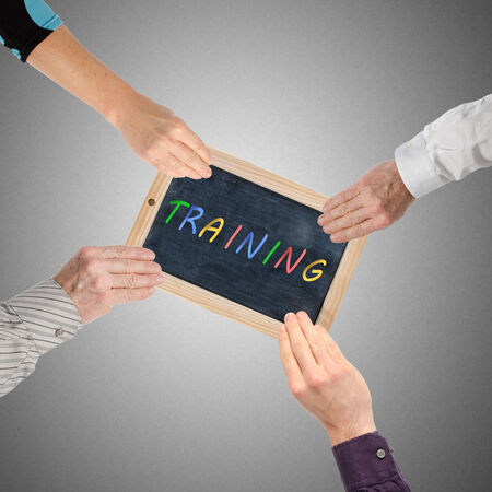 promoting: Hands promoting training