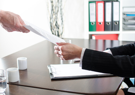 Document handing at office
