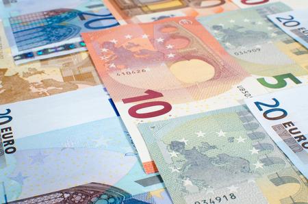 banconote euro: Sfondo di banconote in euro
