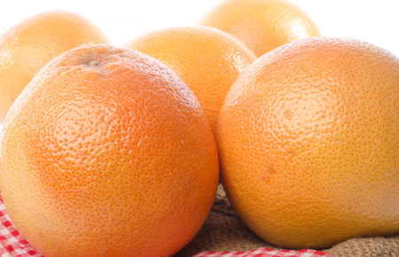 grapefruits: Fresh grapefruits, closeup Stock Photo