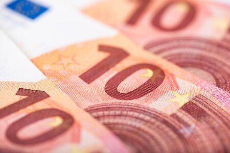 euro banknotes: Background of ten euro banknotes