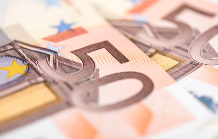 euro banknotes: Background of fifty euro banknotes