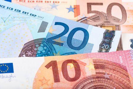 european exchange: Background of euro banknotes