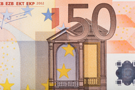 fifty euro banknote: Background of fifty euro banknote